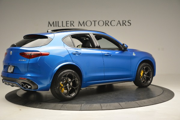 New 2019 Alfa Romeo Stelvio Quadrifoglio for sale $86,790 at Rolls-Royce Motor Cars Greenwich in Greenwich CT 06830 12