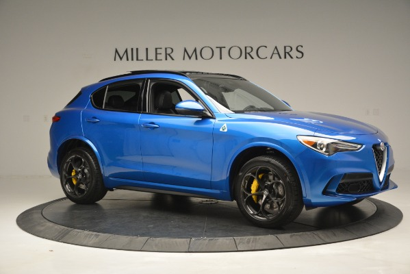 New 2019 Alfa Romeo Stelvio Quadrifoglio for sale Sold at Rolls-Royce Motor Cars Greenwich in Greenwich CT 06830 16