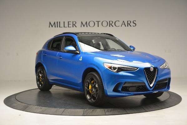 New 2019 Alfa Romeo Stelvio Quadrifoglio for sale $86,790 at Rolls-Royce Motor Cars Greenwich in Greenwich CT 06830 17