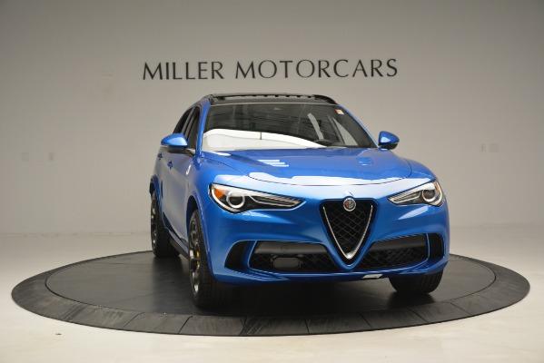New 2019 Alfa Romeo Stelvio Quadrifoglio for sale $86,790 at Rolls-Royce Motor Cars Greenwich in Greenwich CT 06830 18