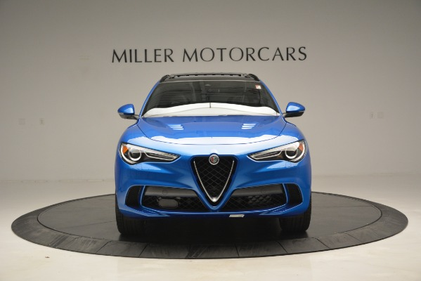 New 2019 Alfa Romeo Stelvio Quadrifoglio for sale Sold at Rolls-Royce Motor Cars Greenwich in Greenwich CT 06830 19