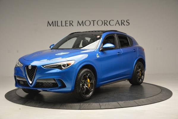 New 2019 Alfa Romeo Stelvio Quadrifoglio for sale $86,790 at Rolls-Royce Motor Cars Greenwich in Greenwich CT 06830 2