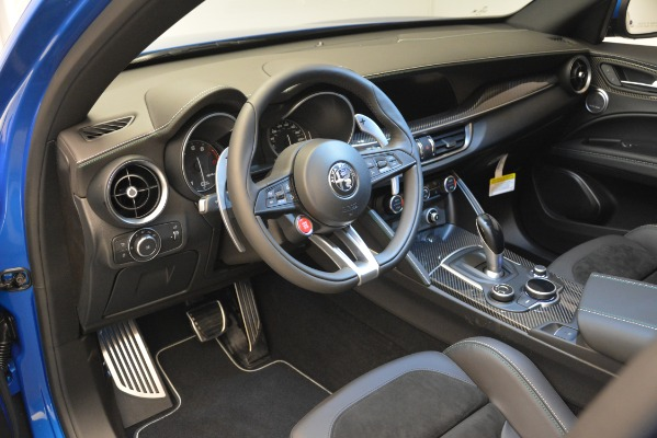 New 2019 Alfa Romeo Stelvio Quadrifoglio for sale $86,790 at Rolls-Royce Motor Cars Greenwich in Greenwich CT 06830 20