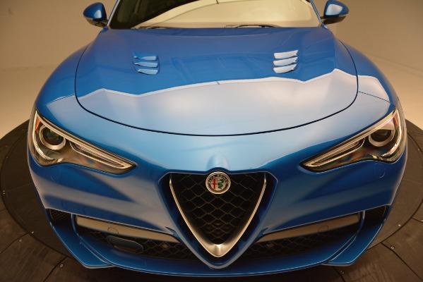 New 2019 Alfa Romeo Stelvio Quadrifoglio for sale $86,790 at Rolls-Royce Motor Cars Greenwich in Greenwich CT 06830 27