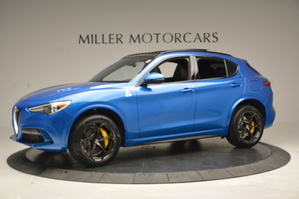 New 2019 Alfa Romeo Stelvio Quadrifoglio for sale Sold at Rolls-Royce Motor Cars Greenwich in Greenwich CT 06830 3