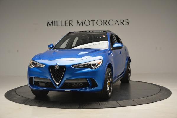 New 2019 Alfa Romeo Stelvio Quadrifoglio for sale $86,790 at Rolls-Royce Motor Cars Greenwich in Greenwich CT 06830 1