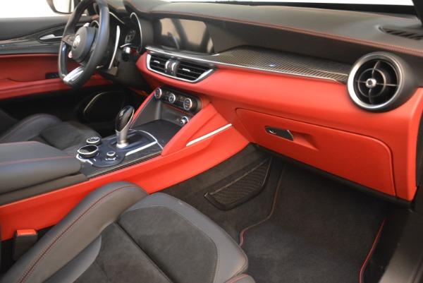 New 2019 Alfa Romeo Stelvio Quadrifoglio for sale Sold at Rolls-Royce Motor Cars Greenwich in Greenwich CT 06830 19