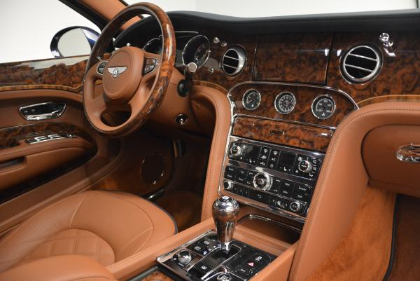 Used 2016 Bentley Mulsanne Speed for sale Sold at Rolls-Royce Motor Cars Greenwich in Greenwich CT 06830 22