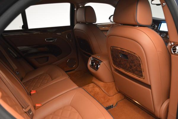 Used 2016 Bentley Mulsanne Speed for sale Sold at Rolls-Royce Motor Cars Greenwich in Greenwich CT 06830 26