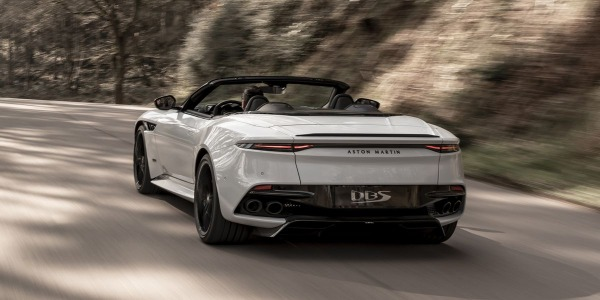 New 2020 Aston Martin DBS Convertible for sale Sold at Rolls-Royce Motor Cars Greenwich in Greenwich CT 06830 3