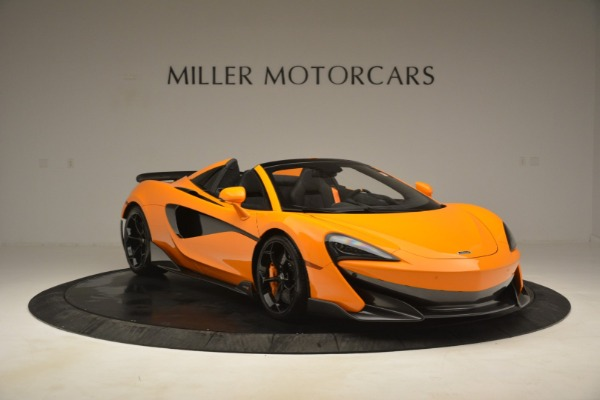 New 2020 McLaren 600LT Spider Convertible for sale Sold at Rolls-Royce Motor Cars Greenwich in Greenwich CT 06830 11