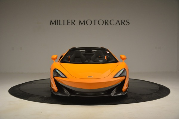New 2020 McLaren 600LT Spider Convertible for sale Sold at Rolls-Royce Motor Cars Greenwich in Greenwich CT 06830 12