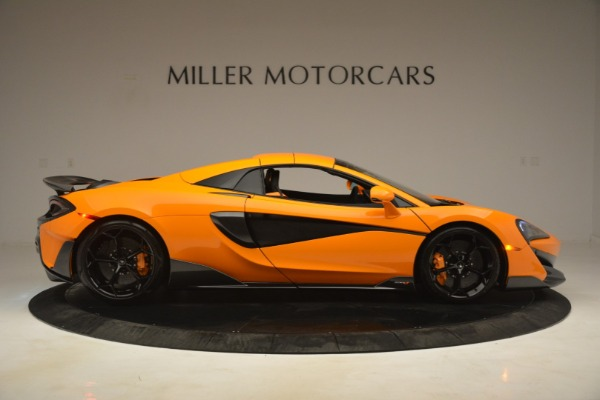 New 2020 McLaren 600LT Spider Convertible for sale Sold at Rolls-Royce Motor Cars Greenwich in Greenwich CT 06830 20