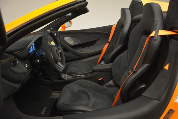New 2020 McLaren 600LT Spider Convertible for sale Sold at Rolls-Royce Motor Cars Greenwich in Greenwich CT 06830 25