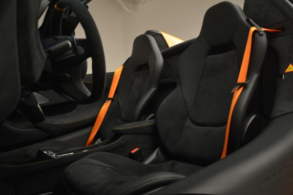 New 2020 McLaren 600LT Spider Convertible for sale Sold at Rolls-Royce Motor Cars Greenwich in Greenwich CT 06830 26