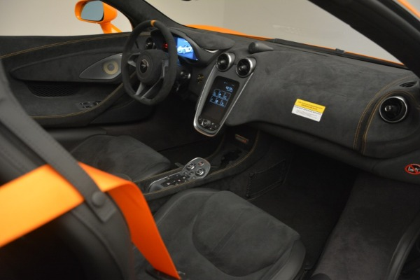 New 2020 McLaren 600LT Spider Convertible for sale Sold at Rolls-Royce Motor Cars Greenwich in Greenwich CT 06830 27