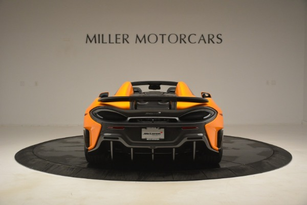 New 2020 McLaren 600LT Spider Convertible for sale Sold at Rolls-Royce Motor Cars Greenwich in Greenwich CT 06830 6