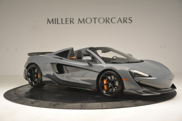 New 2020 McLaren 600LT Spider Convertible for sale Sold at Rolls-Royce Motor Cars Greenwich in Greenwich CT 06830 10