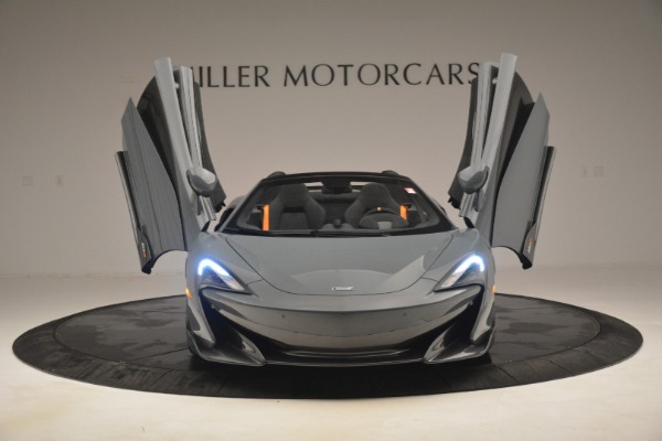 New 2020 McLaren 600LT Spider Convertible for sale Sold at Rolls-Royce Motor Cars Greenwich in Greenwich CT 06830 13