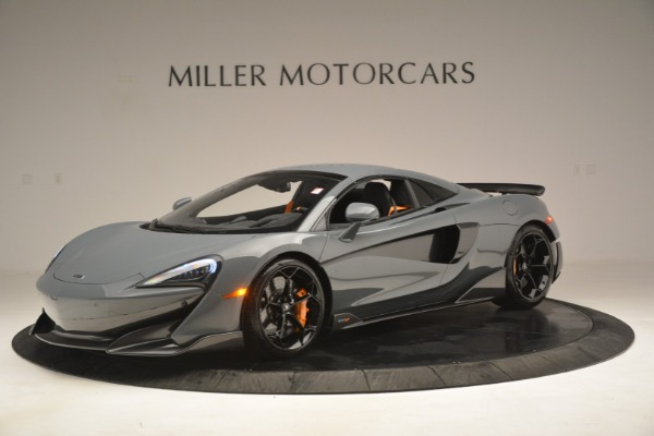 New 2020 McLaren 600LT Spider Convertible for sale Sold at Rolls-Royce Motor Cars Greenwich in Greenwich CT 06830 15