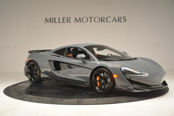 New 2020 McLaren 600LT Spider Convertible for sale Sold at Rolls-Royce Motor Cars Greenwich in Greenwich CT 06830 21