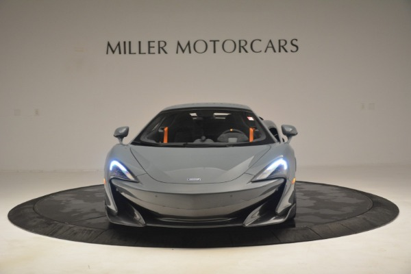 New 2020 McLaren 600LT Spider Convertible for sale Sold at Rolls-Royce Motor Cars Greenwich in Greenwich CT 06830 22