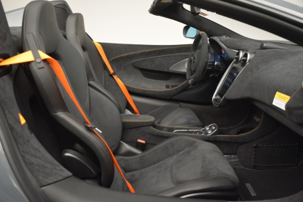 New 2020 McLaren 600LT Spider Convertible for sale Sold at Rolls-Royce Motor Cars Greenwich in Greenwich CT 06830 28