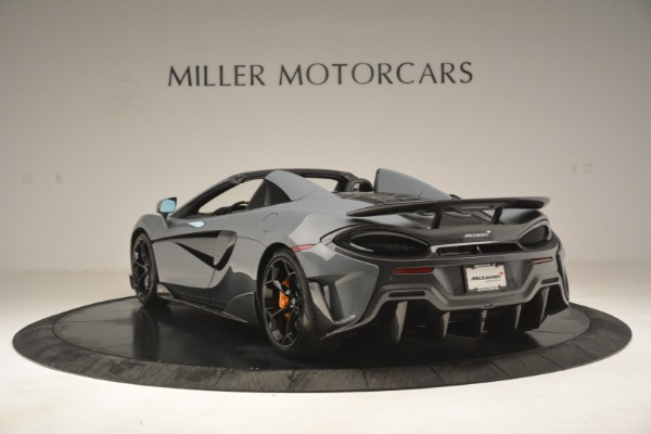 New 2020 McLaren 600LT Spider Convertible for sale Sold at Rolls-Royce Motor Cars Greenwich in Greenwich CT 06830 5