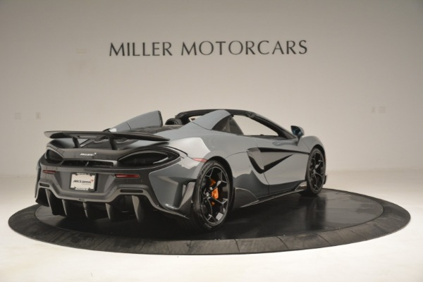 New 2020 McLaren 600LT Spider Convertible for sale Sold at Rolls-Royce Motor Cars Greenwich in Greenwich CT 06830 7