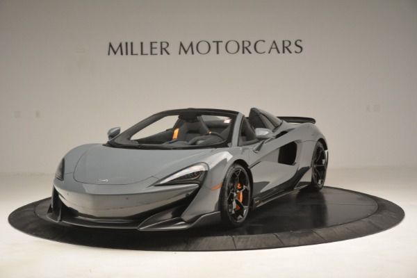 New 2020 McLaren 600LT Spider Convertible for sale Sold at Rolls-Royce Motor Cars Greenwich in Greenwich CT 06830 1