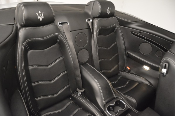 Used 2016 Maserati GranTurismo for sale Sold at Rolls-Royce Motor Cars Greenwich in Greenwich CT 06830 27