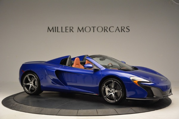 Used 2015 McLaren 650S Spider Convertible for sale Sold at Rolls-Royce Motor Cars Greenwich in Greenwich CT 06830 10