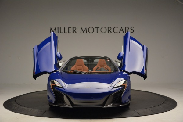 Used 2015 McLaren 650S Spider Convertible for sale Sold at Rolls-Royce Motor Cars Greenwich in Greenwich CT 06830 13