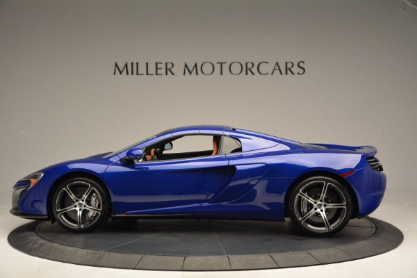 Used 2015 McLaren 650S Spider Convertible for sale Sold at Rolls-Royce Motor Cars Greenwich in Greenwich CT 06830 15