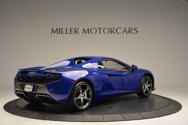 Used 2015 McLaren 650S Spider Convertible for sale Sold at Rolls-Royce Motor Cars Greenwich in Greenwich CT 06830 18