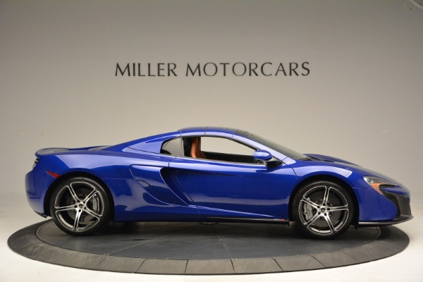 Used 2015 McLaren 650S Spider Convertible for sale Sold at Rolls-Royce Motor Cars Greenwich in Greenwich CT 06830 19