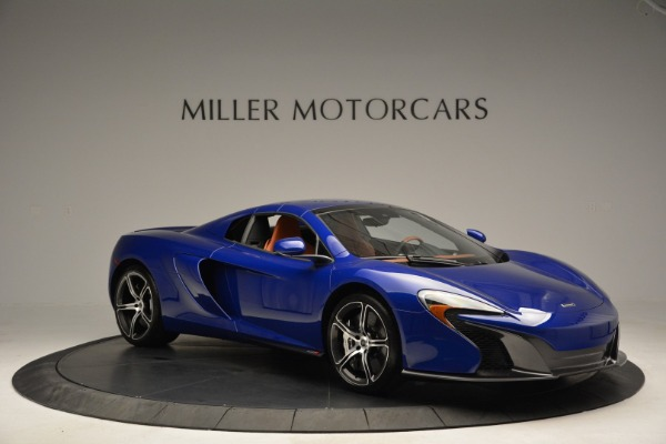 Used 2015 McLaren 650S Spider Convertible for sale Sold at Rolls-Royce Motor Cars Greenwich in Greenwich CT 06830 20