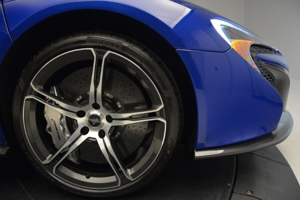 Used 2015 McLaren 650S Spider Convertible for sale Sold at Rolls-Royce Motor Cars Greenwich in Greenwich CT 06830 28