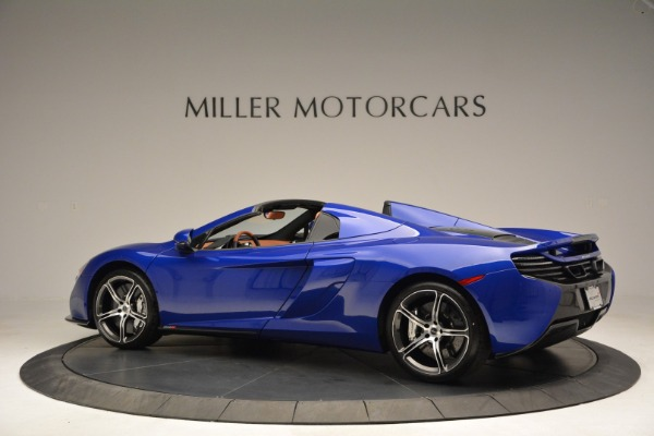 Used 2015 McLaren 650S Spider Convertible for sale Sold at Rolls-Royce Motor Cars Greenwich in Greenwich CT 06830 4