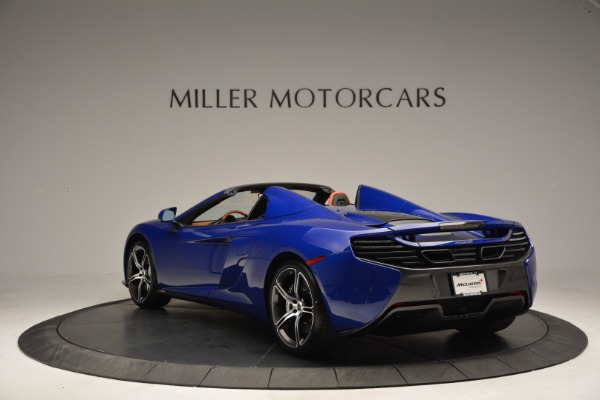 Used 2015 McLaren 650S Spider Convertible for sale Sold at Rolls-Royce Motor Cars Greenwich in Greenwich CT 06830 5