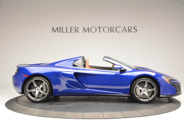 Used 2015 McLaren 650S Spider Convertible for sale Sold at Rolls-Royce Motor Cars Greenwich in Greenwich CT 06830 9