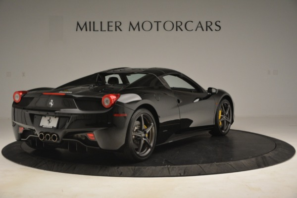 Used 2013 Ferrari 458 Spider for sale Sold at Rolls-Royce Motor Cars Greenwich in Greenwich CT 06830 16