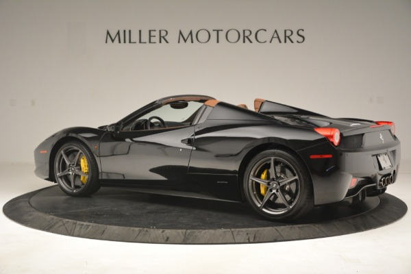 Used 2013 Ferrari 458 Spider for sale Sold at Rolls-Royce Motor Cars Greenwich in Greenwich CT 06830 4