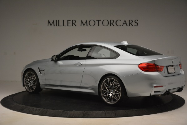 Used 2017 BMW M4 Competition PKG for sale Sold at Rolls-Royce Motor Cars Greenwich in Greenwich CT 06830 4