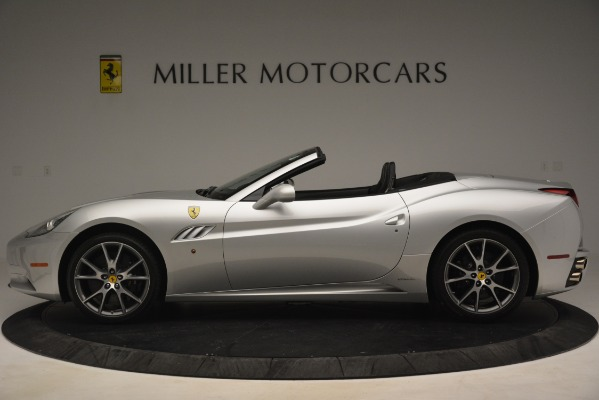 Used 2012 Ferrari California for sale Sold at Rolls-Royce Motor Cars Greenwich in Greenwich CT 06830 3