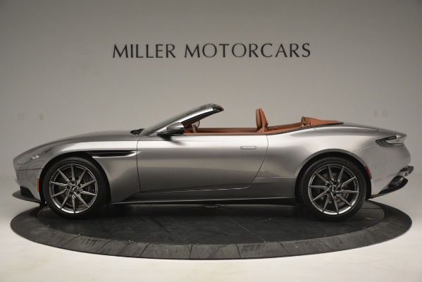 New 2019 Aston Martin DB11 V8 Convertible for sale Sold at Rolls-Royce Motor Cars Greenwich in Greenwich CT 06830 3