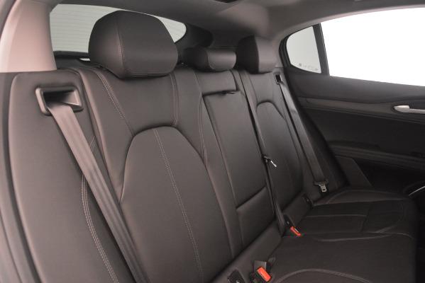 New 2019 Alfa Romeo Stelvio Ti Q4 for sale Sold at Rolls-Royce Motor Cars Greenwich in Greenwich CT 06830 25