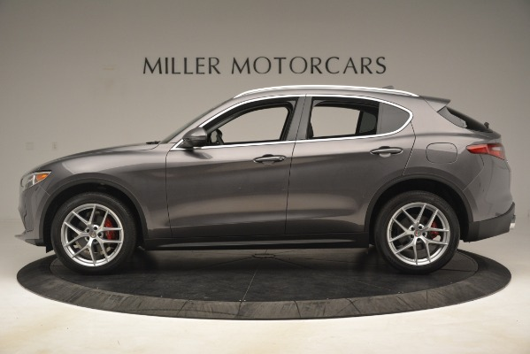 New 2019 Alfa Romeo Stelvio Ti Lusso Q4 for sale Sold at Rolls-Royce Motor Cars Greenwich in Greenwich CT 06830 3