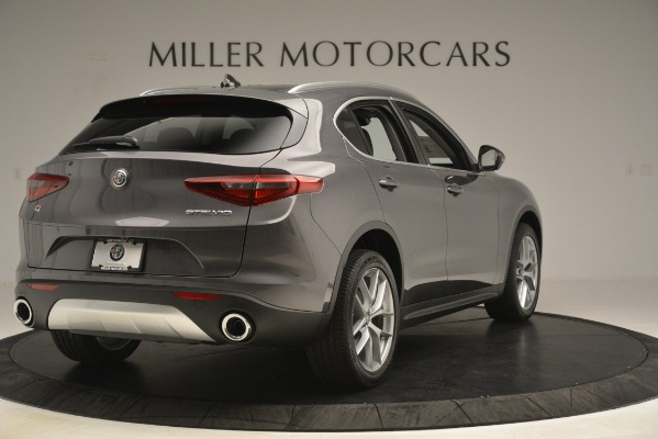 New 2019 Alfa Romeo Stelvio Ti Lusso Q4 for sale Sold at Rolls-Royce Motor Cars Greenwich in Greenwich CT 06830 7