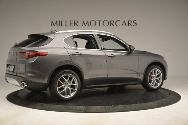 New 2019 Alfa Romeo Stelvio Ti Lusso Q4 for sale Sold at Rolls-Royce Motor Cars Greenwich in Greenwich CT 06830 8